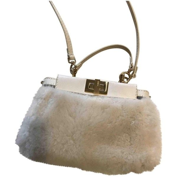 Fendi Pre-owned - Peekaboo leather crossbody bag VG8sCLQ