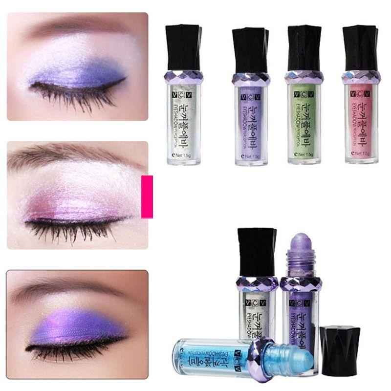 Beauty Essentials Single Roller Color Eyeshadow Glitter Pigment Loose Powder Shimmer Eye Shadow Makeup Eye Shadow