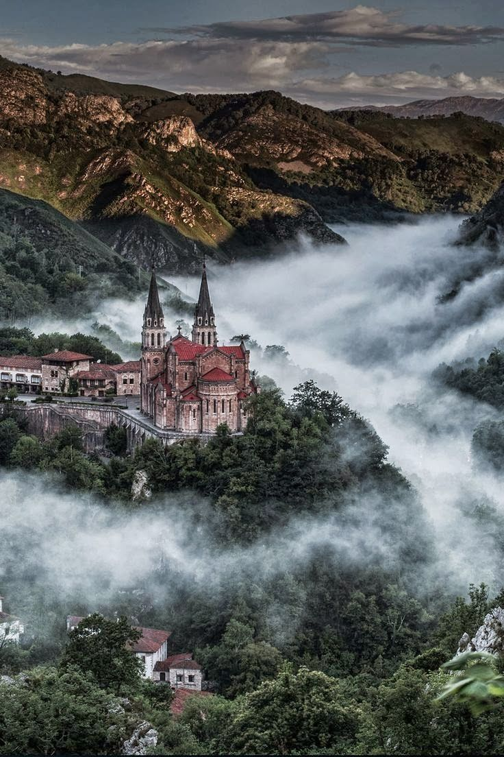 Covadonga Asturias España