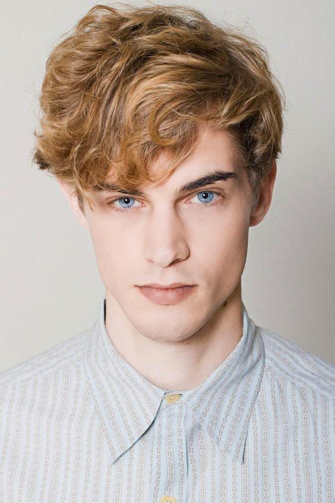 Greg Nawrat Curly Hair Men Men Blonde Hair Blonde Male Models