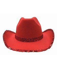 Red Sequin Cowboy Hat  7.95  74d9e894dda