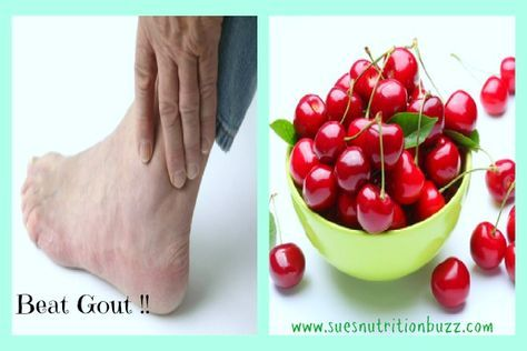 Eat Your Gout Out ! Tips to relieve pain & symptons associated with Gout…