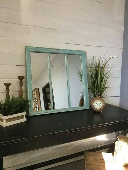 rustic windows rustic mirrors vintage windows window pane mirror mirror walls farmhouse style apartment ideas distressed furniture hoe