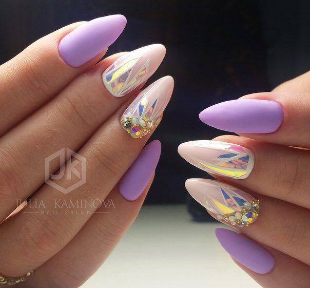 Pin de Anna Kli en Nails   Pinterest   Uñas lindas