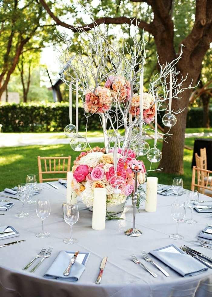 Favori Déco mariage au printemps- 16 idées pour votre table de fête  GX94