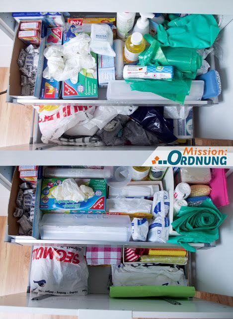 Der Waschbeckenunterschrank In Der Kuche Musste Unbedingt Mal Geordnet Werden Auf Meinem Blog Findet Ihr Waschbeckenunterschrank Ordnung In Der Kuche Schrank