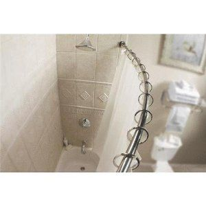 Curved Curtain Rod For Khloe S Stage Shower Rod Shower Curtain