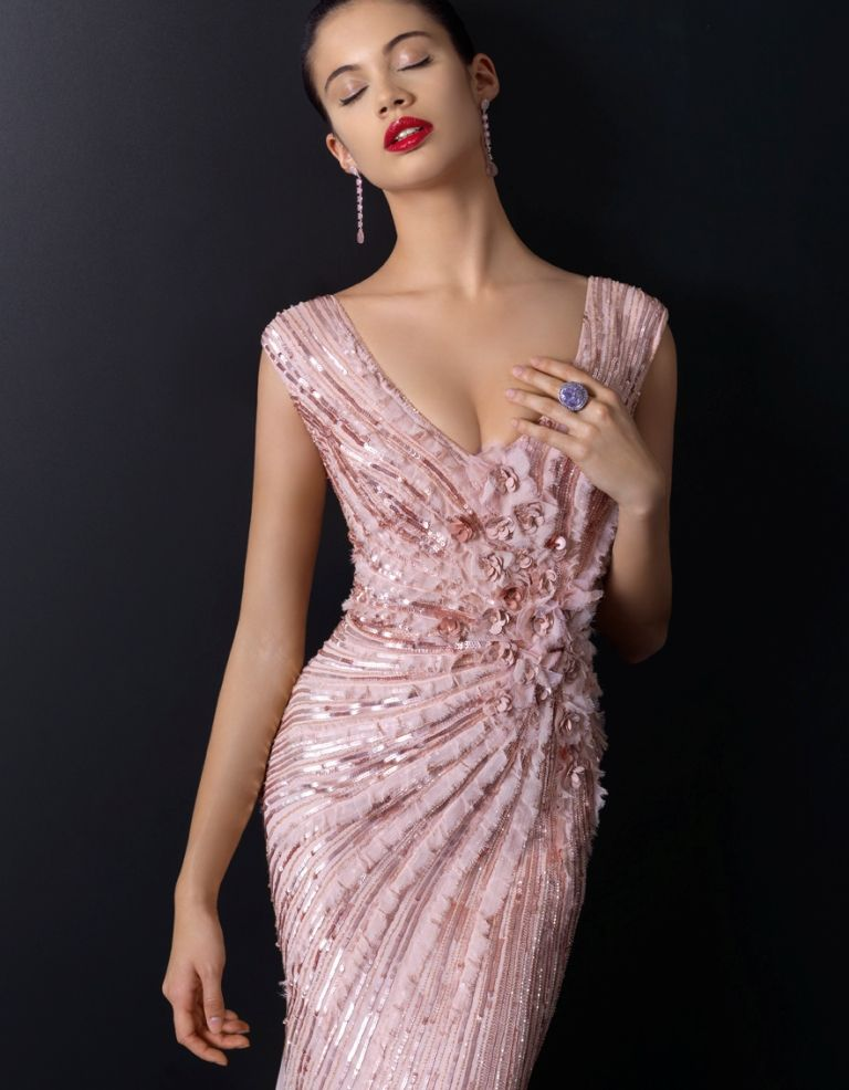 Vestidos para brillar en esta navidad | Rosa Clará | Vestidos ...
