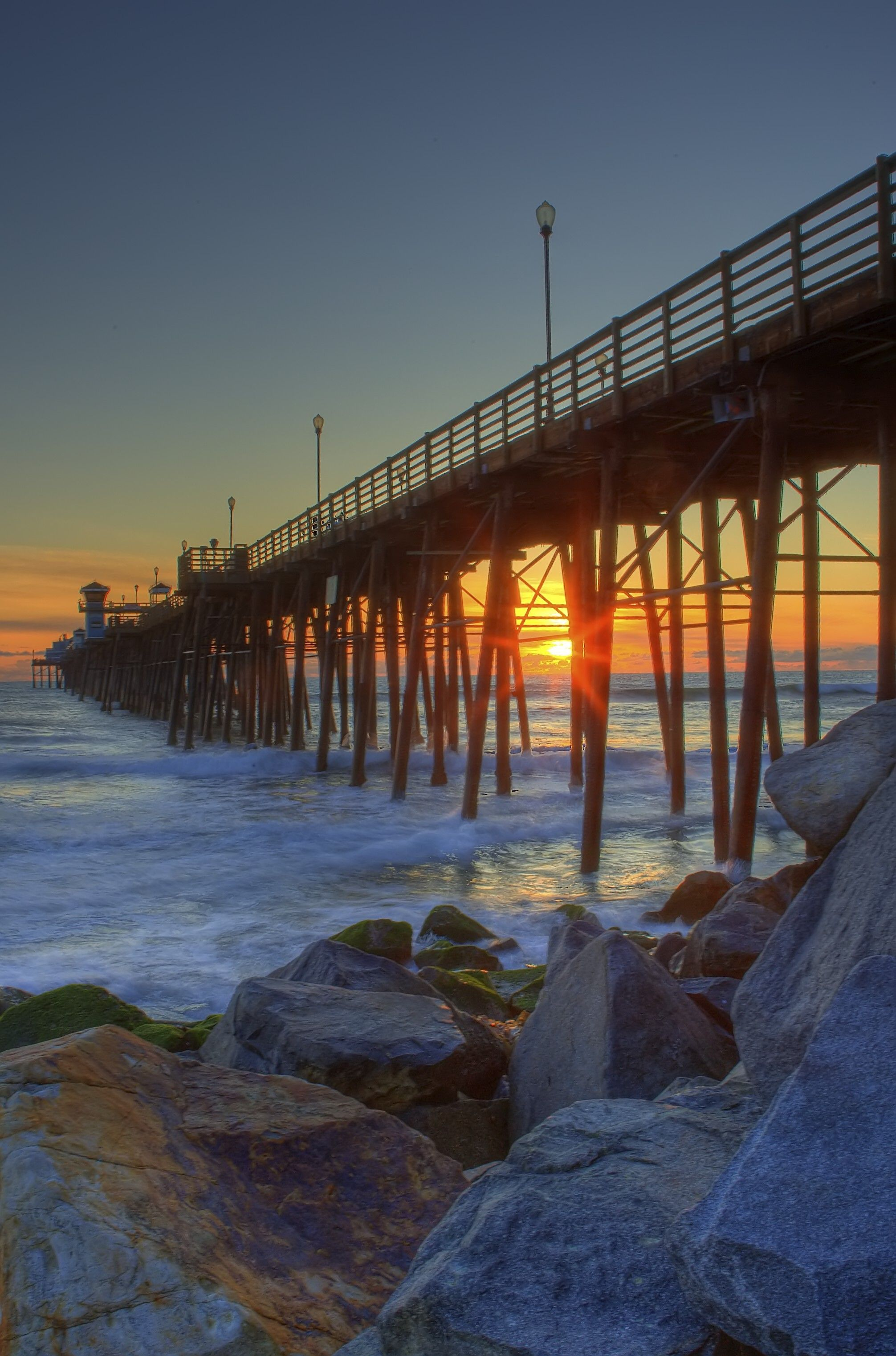 Oceanside Pier Sunset -Stationed at Camp Pendleton we got ...