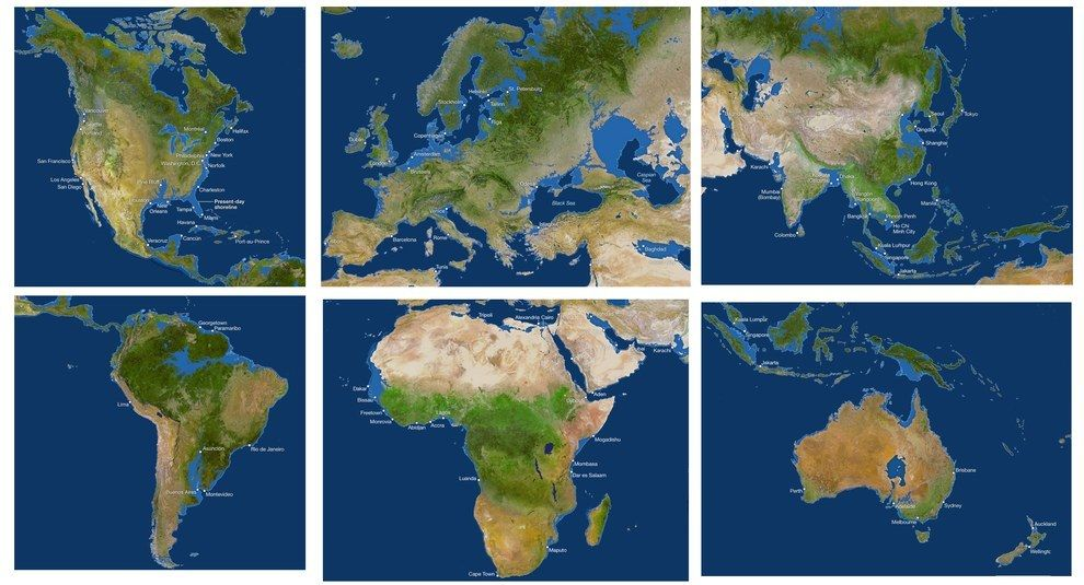These Terrifying Maps That Shows What The World Could Look Like If