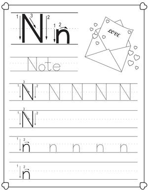 christmas alphabet letter tracing pack for preschoolers my preschool plan nicholas tracing. Black Bedroom Furniture Sets. Home Design Ideas