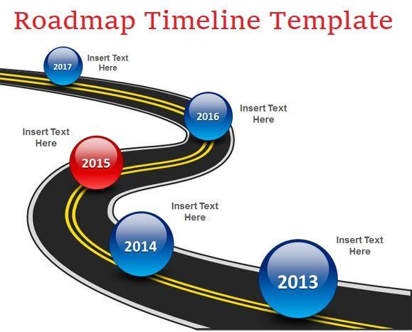 Roadmap Timeline Templates Free Printable PDF Excel Word - Roadmap template word