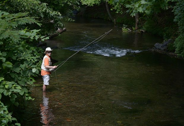 Anglers Travel To The Midstate From Faraway Places Such As Colorado To Get A Taste Of Limestone Creek Fishing Particularly Cumberland County Creek Breeches