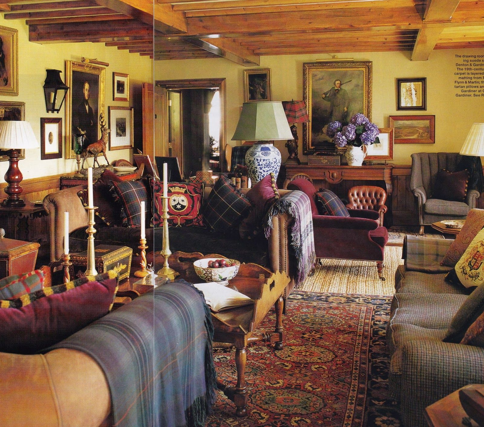 The Drawing Room In Ward Denton And Christopher Gardner S Country Estate House Garden Photo
