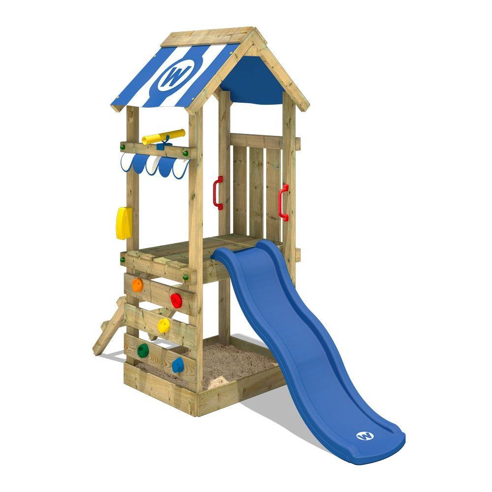 Kletterturm Mit Rutsche Funkyflyer Kinderspielgerat Kletterturm Kletterturm Mit Rutsche Sandkasten