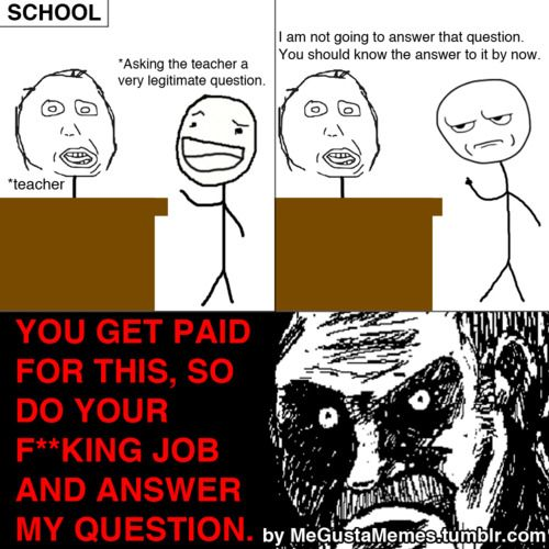 funny memes about school | ... already know the answer ... Funny Memes About School