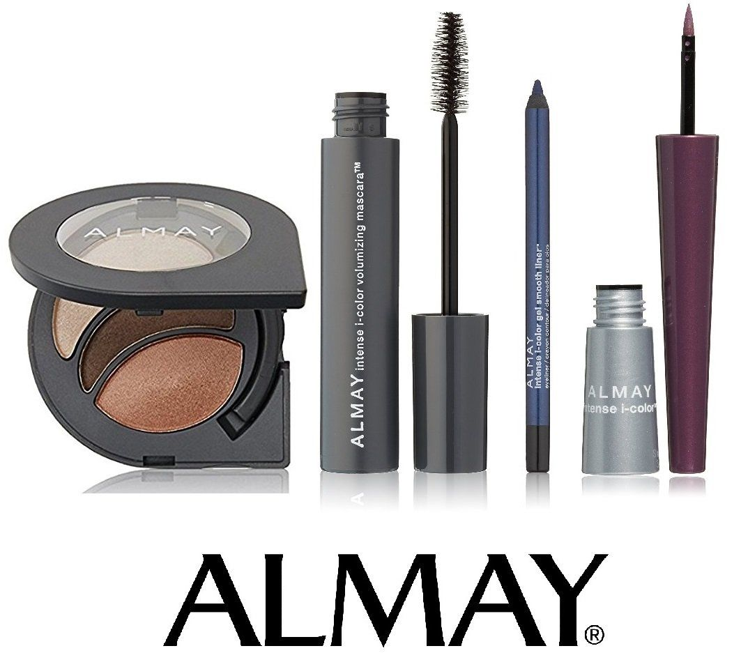 4pcs set - almay intense i-color for blue eyes - mascara
