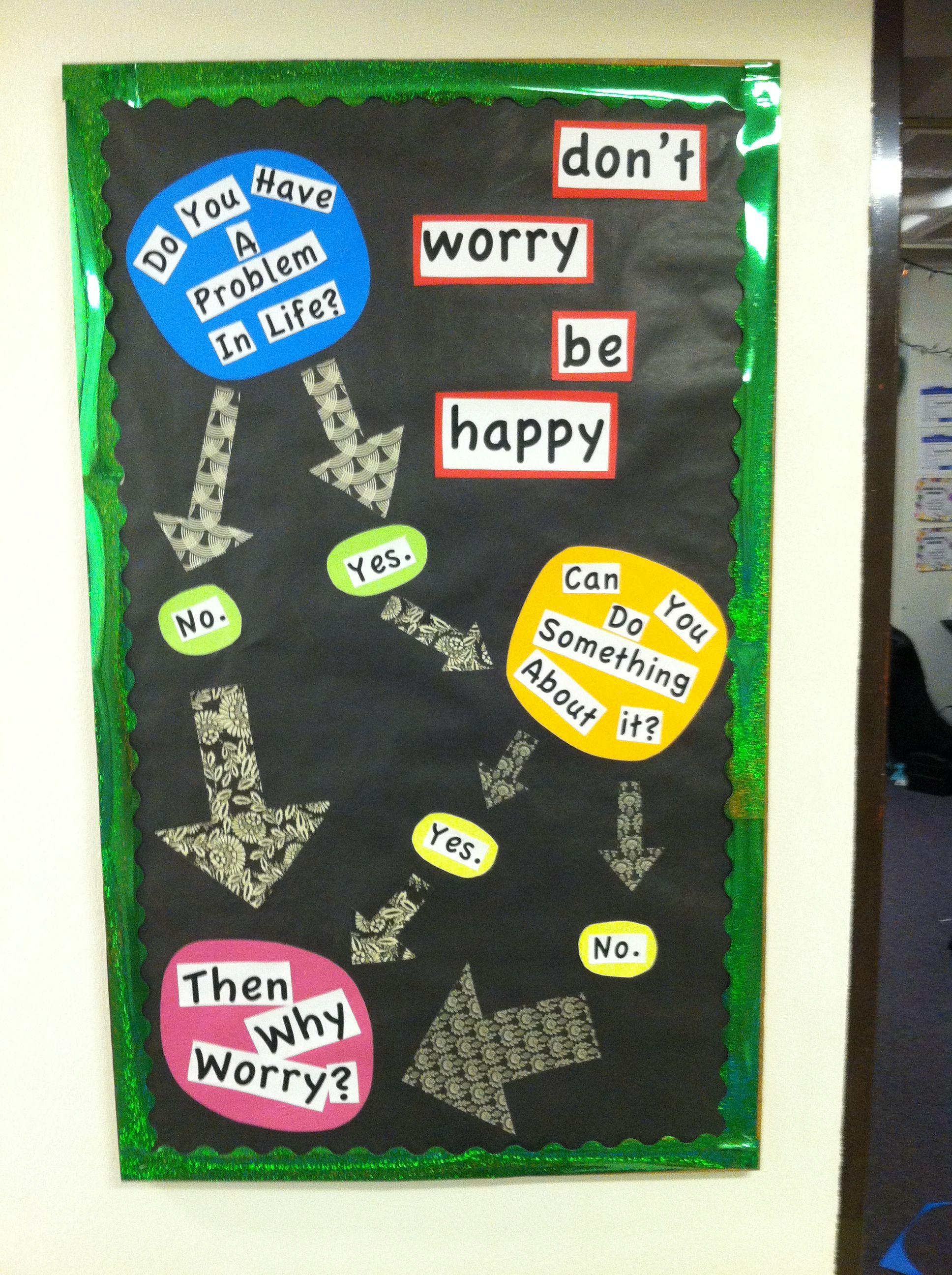 Worry Bulletin Board