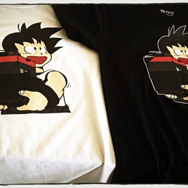 Yo this is a dope Dragonball Tee I helped design for