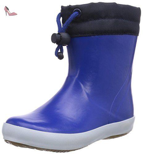 Viking Frost Fighter, Bottes de Neige Mixte Enfant - Bleu (Blue/Black 3502), 30 EU