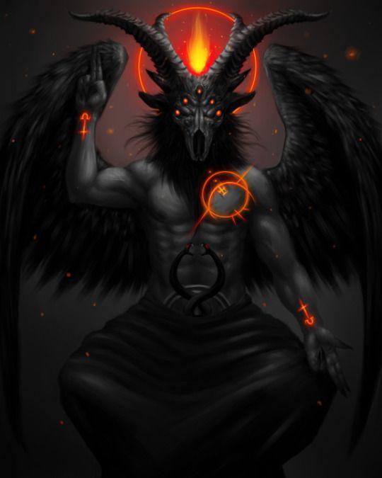 Dämonen, Dunkelheit, Schwarze Magie