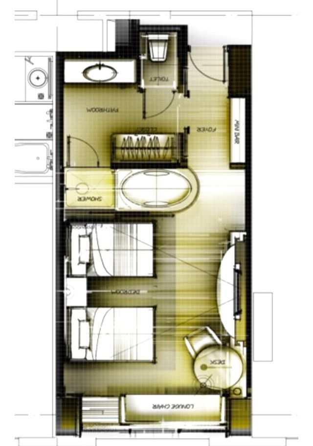 Pin de pravit sopitlaptana en interior pinterest plano for Hoteles en planta