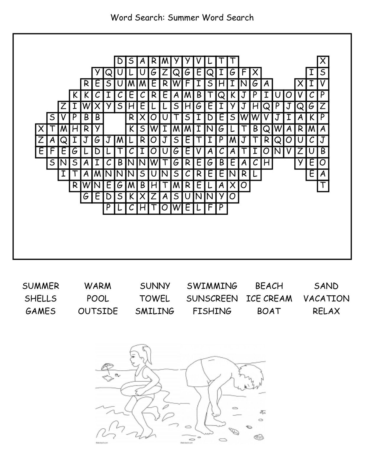 image regarding Fun Printable Games identified as Pleasurable Printable Video games Educative Puzzle for Small children Pleasurable