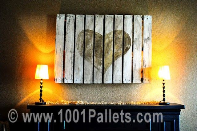 pallet wall2 Pallet wall art in pallet wall pallet home decor pallets ceiling roof  with Pallets Wall Art