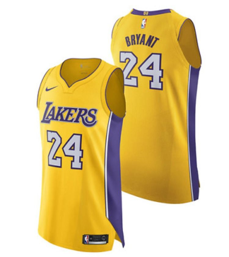 Los Angeles Lakers Nike Icon Authentic Jersey Kobe Bryant 227 17 In 2020 Kobe Bryant Kobe Bryant Nba Lakers Kobe Bryant