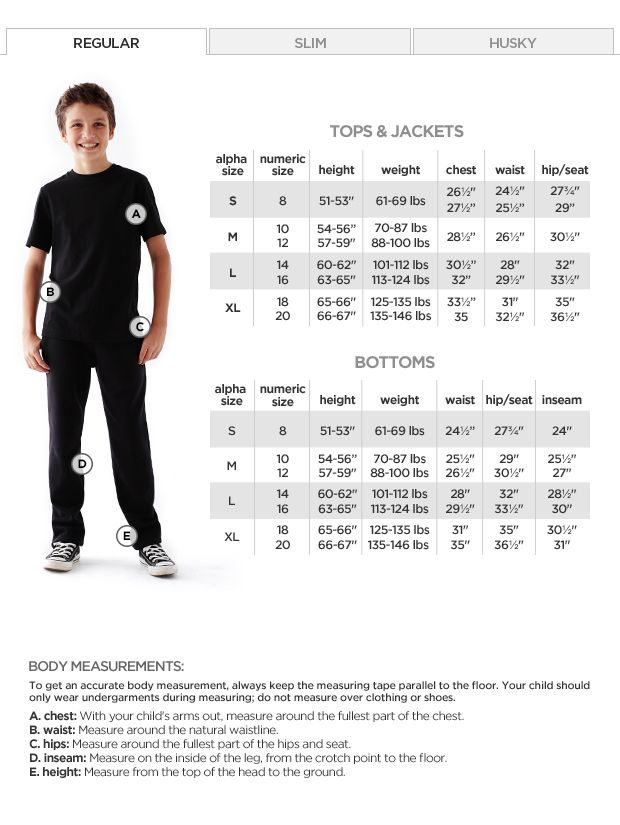 798e18d61b3 Arizona Original-Fit Jeans - Boys 8-20