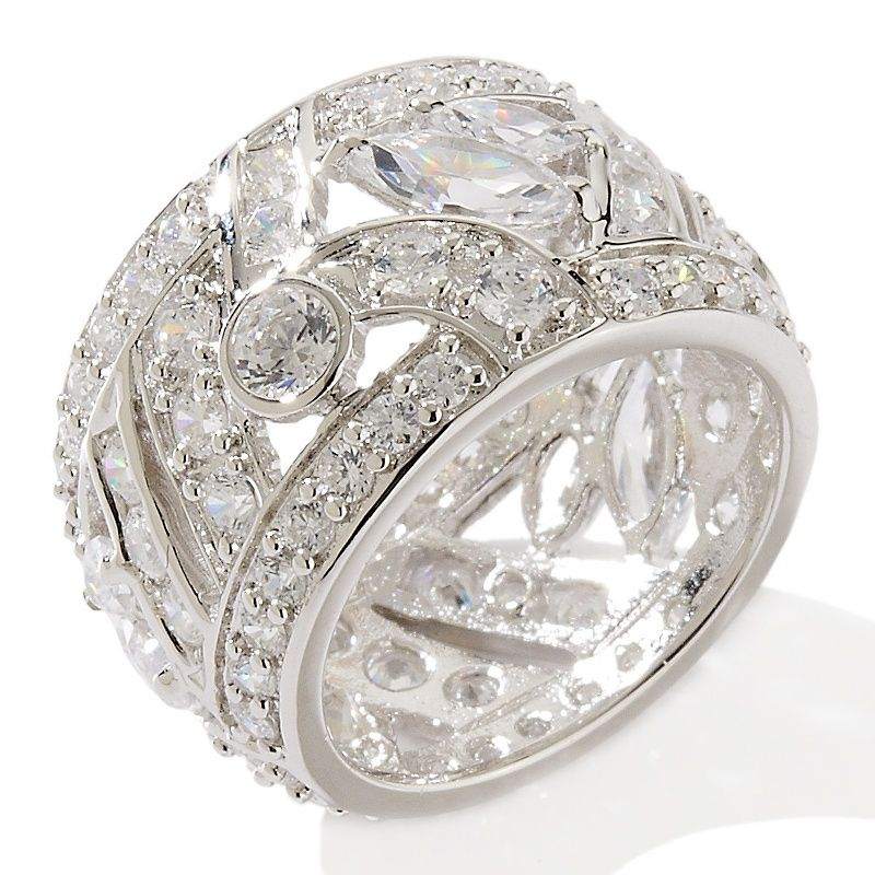 wide diamond band ring  Google Search  My Style Pinboard