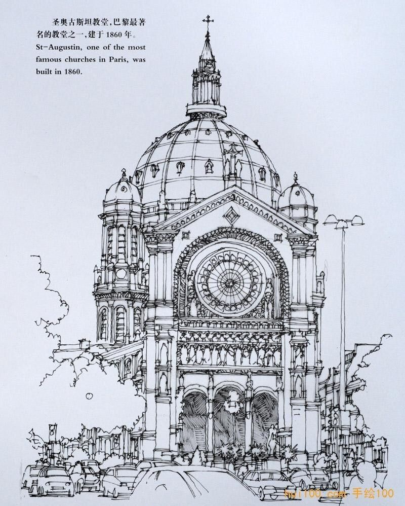 architectural drawings of famous buildings. Sketch Architectural Drawings Of Famous Buildings