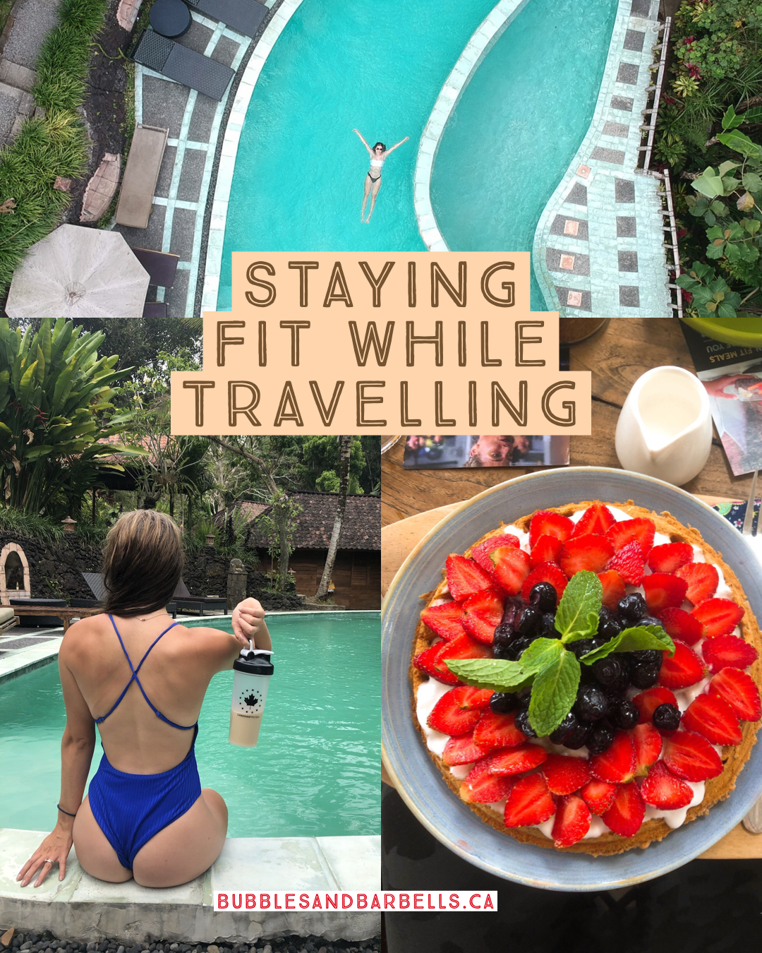 Sick of feeling sluggish on vacation or when you get home from travels? Here are my tips and tricks...