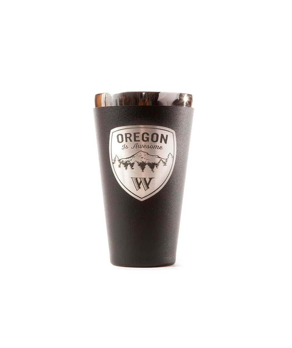 Oregon Is Awesome Hydroflask 16oz True Pint Drinkware Hydroflask Pint Glassware