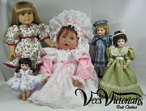 dabed2656d1 Vee s Victorians Doll Clothes