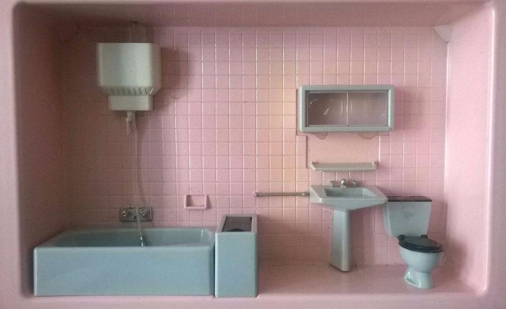 Salle de bain Mont Blanc (Barbie size)