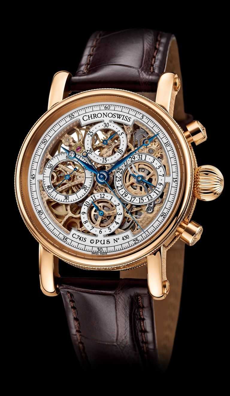 Chronoswiss chronograph skeleton watches pinterest chronograph