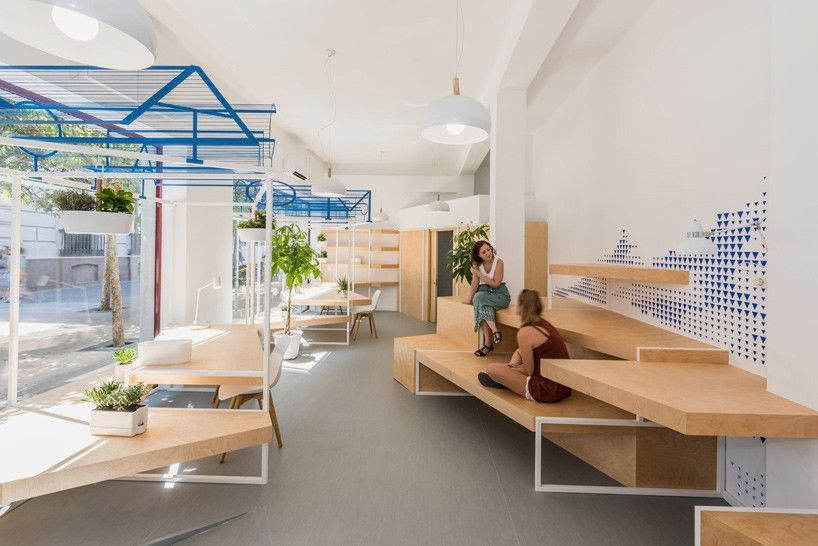 Alcazar Tourist Office Interiors By Pkmn Architectures With