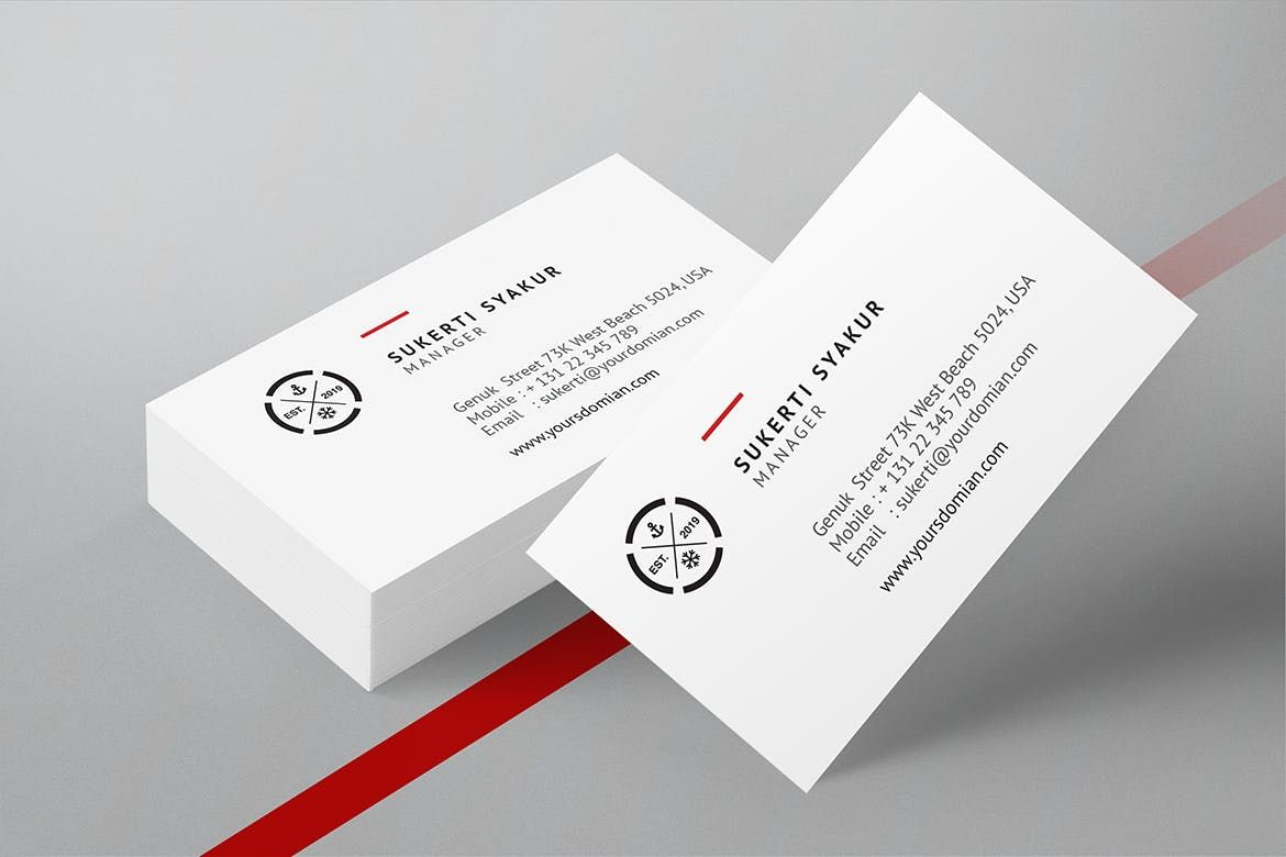 Business Card Template Indesign Business Card Template Business Card Design Business Card Template Design