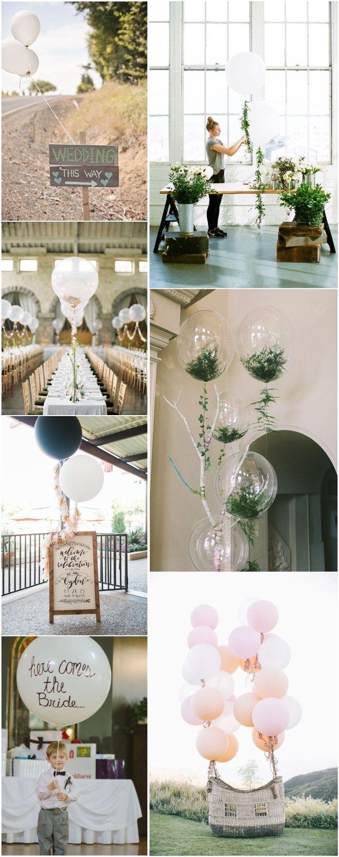 Wedding decoration ideas balloons   Fun and Creative Balloon Wedding Decoration Ideas  Pinterest