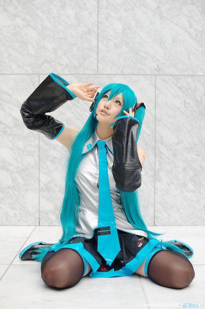 Beautiful Cosplay Of Hatsune Miku Rolecostume Miku Cosplay Hatsune Miku Miku Hatsune Cosplay