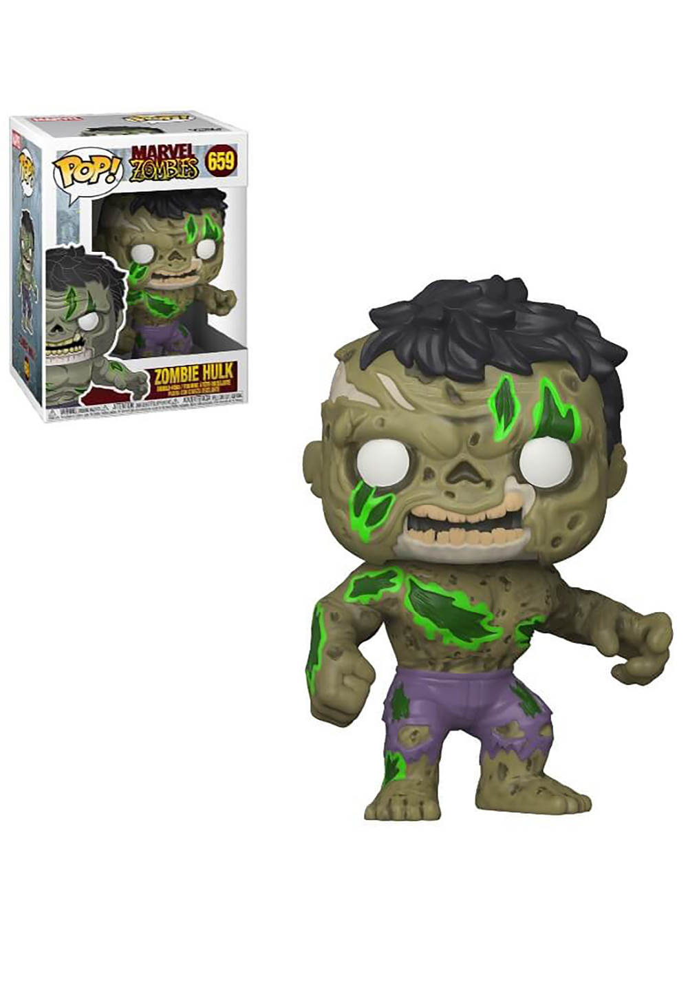 Pop Marvel Marvel Zombies Hulk Forever Halloween In 2020 Deadpool Funko Pop Marvel Zombies Funko Pop