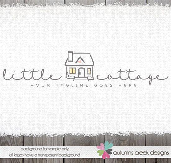 Premade Logo House Logo Cottage Logo Logo Design Premade