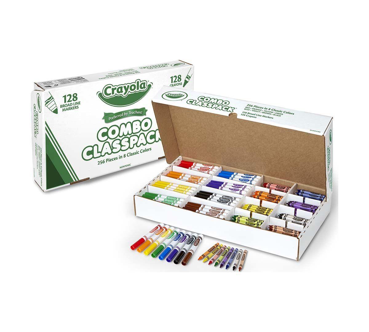 Bulk Markers Crayons 256 Count Classpack Crayola Com