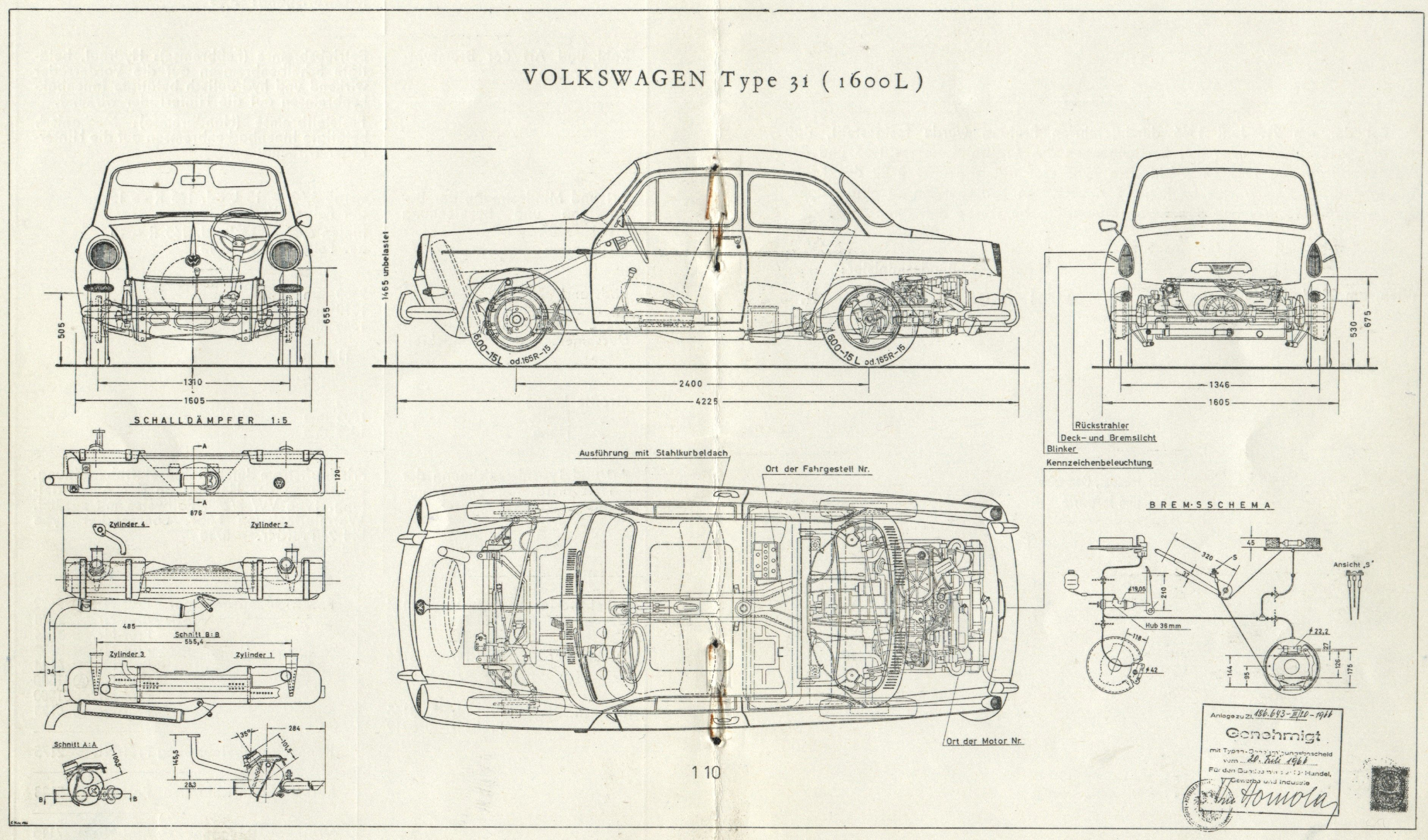 old car blueprints - Google Search | Prints | Pinterest | Cars, Vw ...