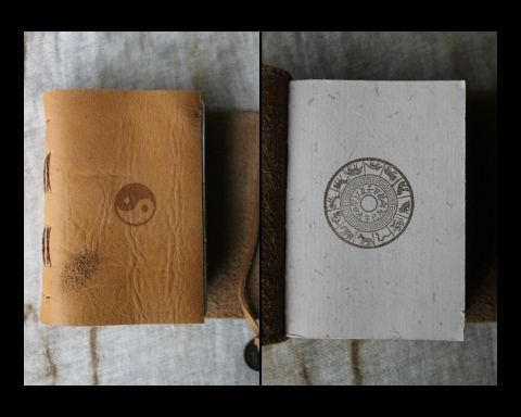CHINESE ZODIAC GNOME JOURNAL - inside por MOONWATER BOOKS