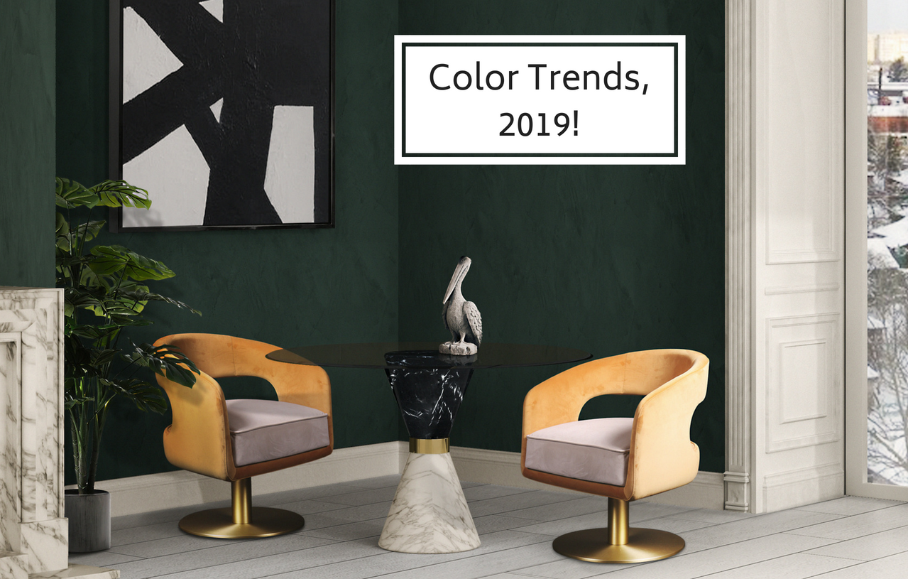 These Are The Home Interior Colors All Experts Are Betting For 2019