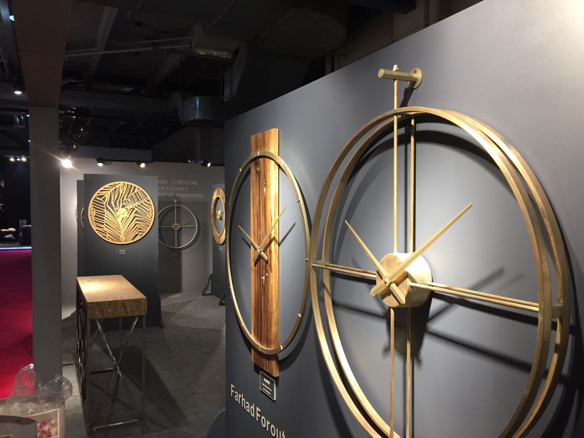 wall clock collection stand for HOFEX 2019 exhibition in TEHRAN-IRAN design by FARHAD FOROUTAN ...   #exhibitionstand   #exhibitiondesign  #decor #wallclock #clock #interiordesign #designer #stand #modern #moderndesign #exhibitionstanddesign