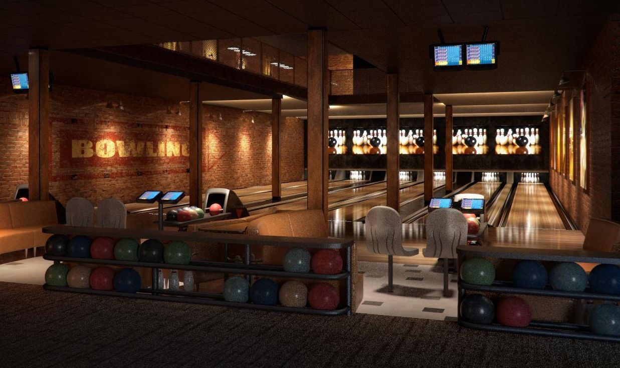 bowlingalleyconcept.jpg (1237×735) Home bowling alley