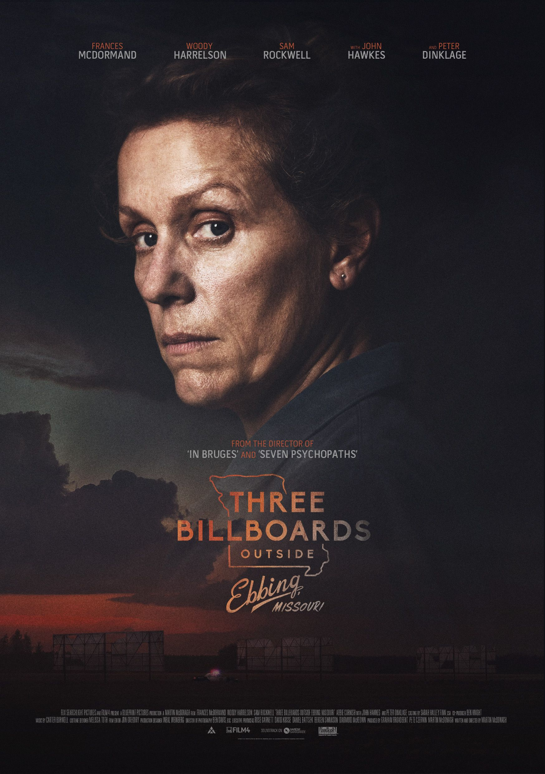 three billboards outside ebbing missouri poster by